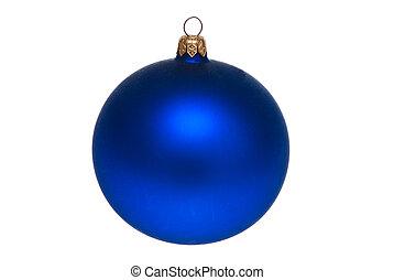 Blue ball.