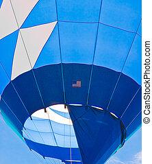 Blue Balloon in Blue Sky 1
