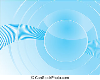 blue based abstract vector background
