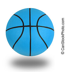 Blue basketball