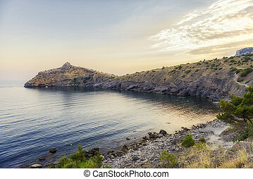 Blue Bay. The Pirat Bay.