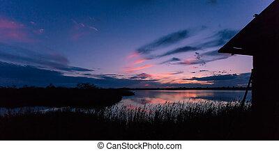 Blue bayou - After sunset