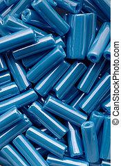 Blue beads assortment