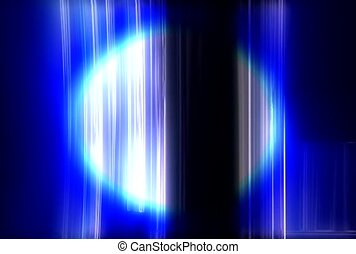 Blue Beam Background