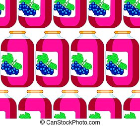 Blue berry juice pattern