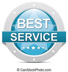 best service button - blue best service button banner on...
