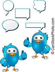 Blue Bird - Giving A Thumbs Up