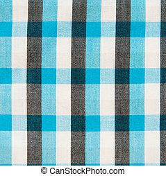 blue, black and white checkered pattern texture. Abstract background