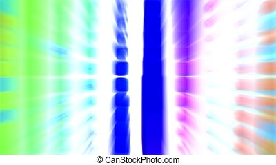 blue block,light rays,computer web