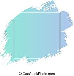 Blue Blot Banner