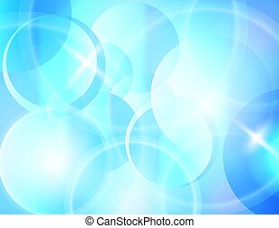 blue blur abstract vector background