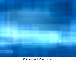 Blue blur - Editable vector background blur of blue...