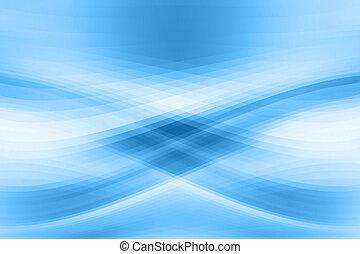 Blue blurred background.
