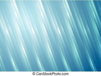 Blue blurred shiny stripes vector background