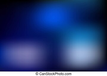 Blue blurred vector background