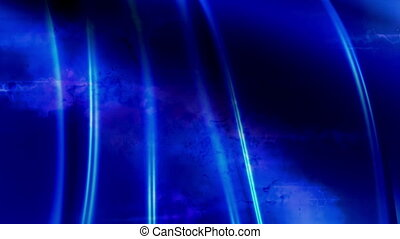 Blue blurs abstract looping animated background