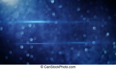 blue bokeh lights loopable background