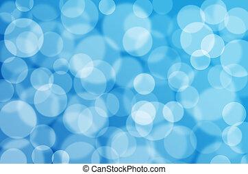 blue bokeh texture