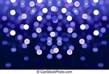 blue bokeh vector background