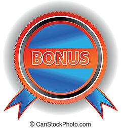 Blue bonus icon