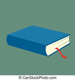 Blue book icon