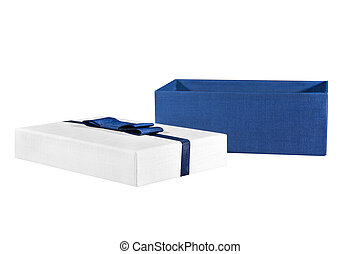 box on a white background