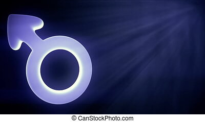 Blue Boy Icon In Sparkle Shine - background animation for...