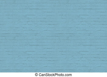 Blue brick wall pattern background