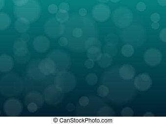Blue bubble background