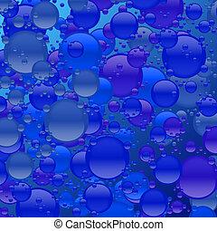 Blue Bubble Mania