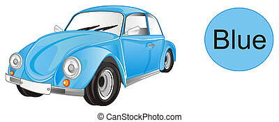 blue bug car