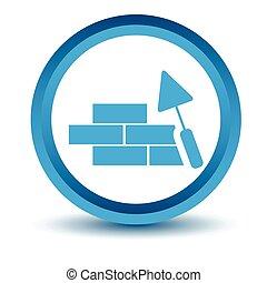Blue Building icon