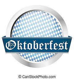 blue button Oktoberfest