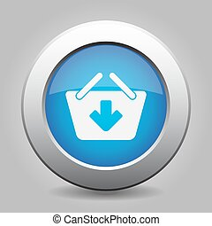 blue button - shopping basket add