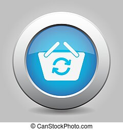 blue button shopping basket refresh