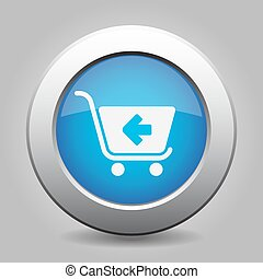 blue button - shopping cart back