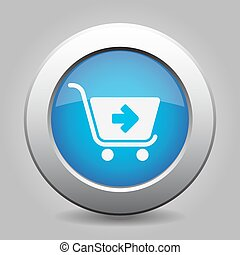 blue button - shopping cart next