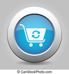 blue button shopping cart refresh