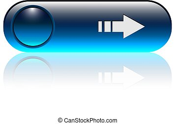 Blue button with arrow