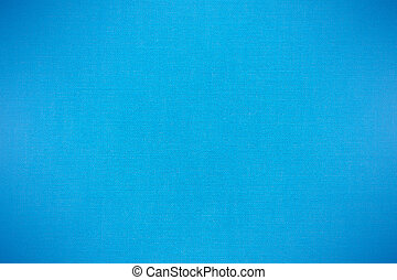 blue canvas background, woven fabric texture, closeup