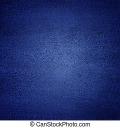 Blue canvas texture abstract  background with vignette