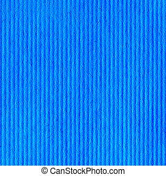 Blue Cardboard Paper Texture Closeup