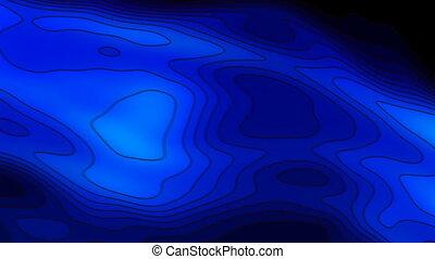 blue cartoon seamless looping bg
