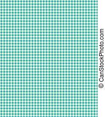 Blue Checker Plaid Paper