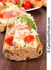 Blue cheese sandwich