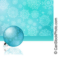 Blue christmas abstract background. EPS 8