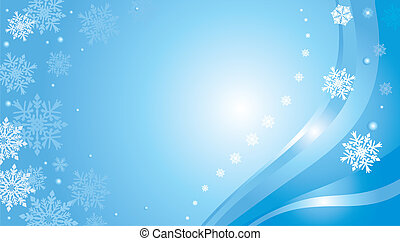blue christmas card background 5