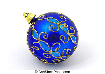 Christmas Ornament - Blue Christmas Ornament