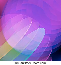Blue circle abstract background.
