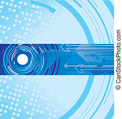 circle and arrow background - blue circle and arrow...